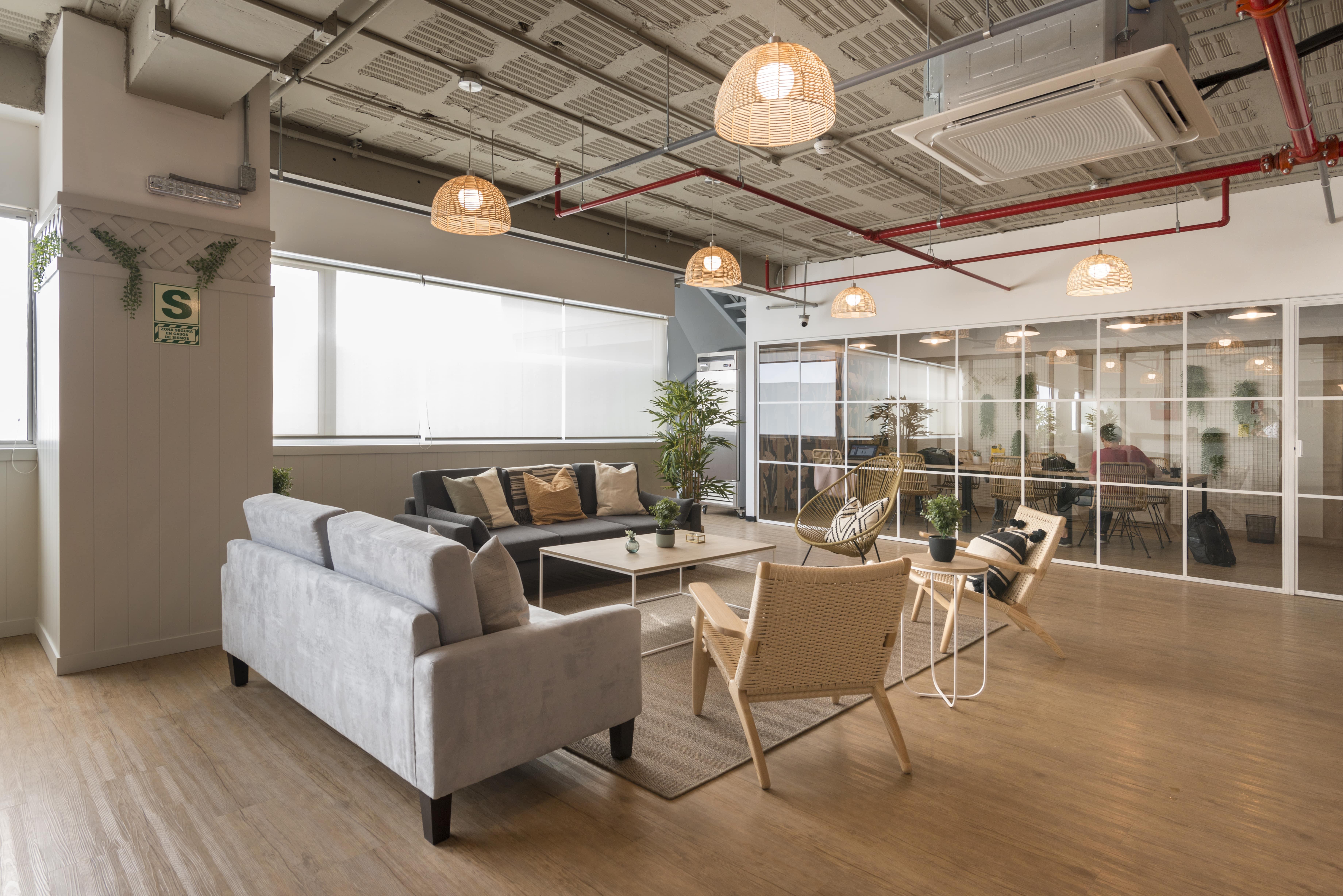 espacio de coworking en comunal