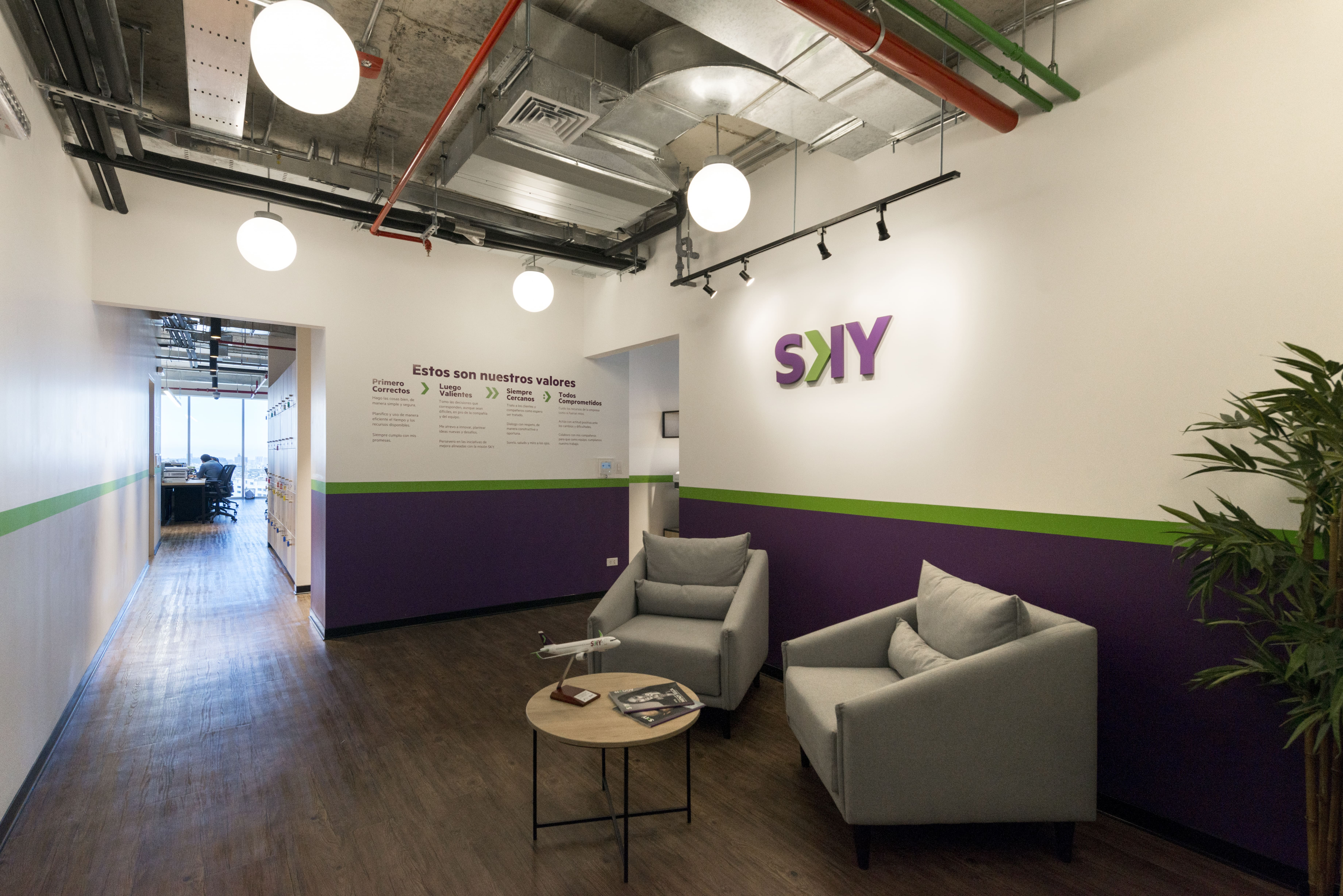 oficinas flexibles de sky